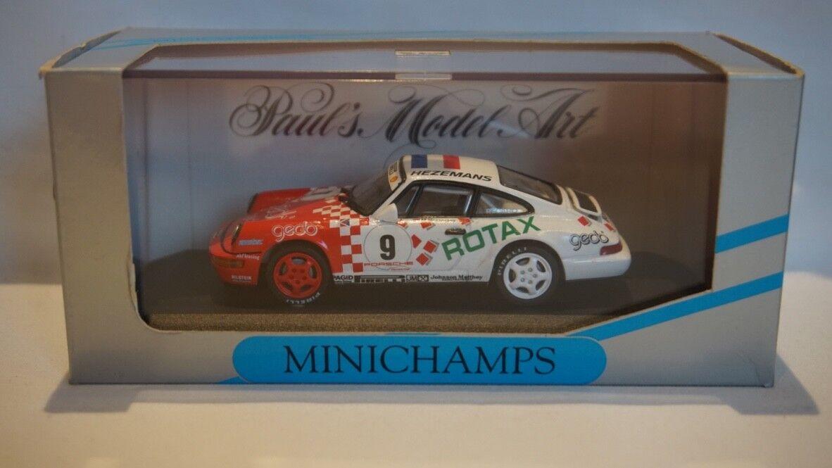 Minichamps Porsche 911 Carrera Cup 1993 M Hezemans  9 1 43