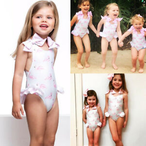 eece16a1d4d Details about US Newborn Cute Kid Baby Girl Bikini Swimwear Swimsuit  Bathing Suit Clothes 1-5T