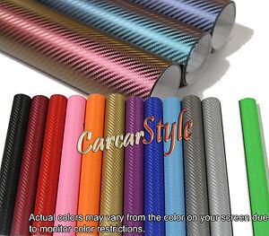 Bubble-AIR-Free-ALL-COLOUR-ALL-SIZE-Carbon-Fibre-Vinyl-Wrap-3D-Textured-4-CAR