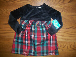 Baby Girl Healthtex Old Fashioned Holiday Christmas Dress Size 3t New Plaid Ebay