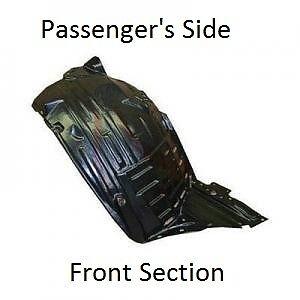 fits 03-05 350Z Front PASSENGER Bumper Inner Fender Splash Shield Liner Right RH
