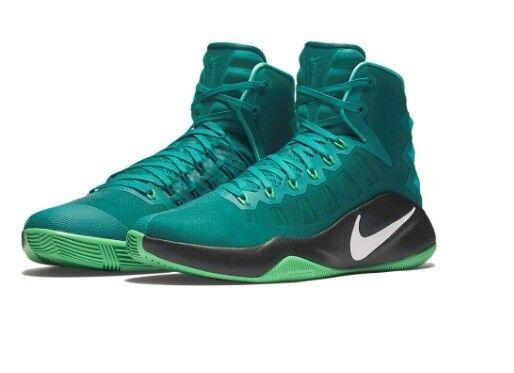 Nike Hyperdunk 2018 Hi Top Rio Teal Basketball Shoes Kicks 9.5 Mens 844359 313