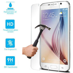 meet 81e7c d321b Details about Tempered Glass Screen Protector Case For Samsung Galaxy Note  2 3 4 5 S4 S5 S6 S7