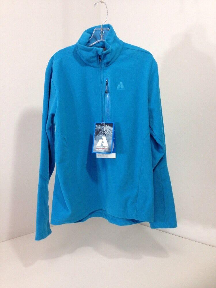 First Ascent Eddie Bauer Women's Fleece SZ. MEDIUM NWT Turquoise  65.00