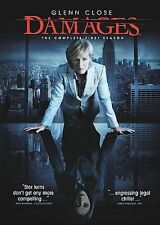 Damages  The Complete First Season DVD 3-Disc Set NEW factory sealed