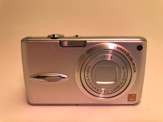 panasonic lumix dmc fx01 6 0mp digital camera silver ebay rh ebay com Panasonic Lumix DMC- TZ10 Panasonic Lumix GH3