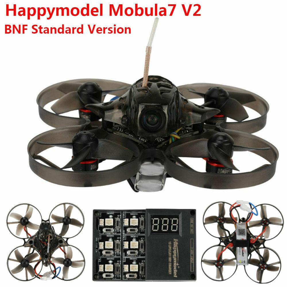 Happymodellolo Mobula 7 V2 75mm BNF OSD 2S  Whoop FPV Racing Drone QuadCrazybee F3 GS  vendita online sconto prezzo basso
