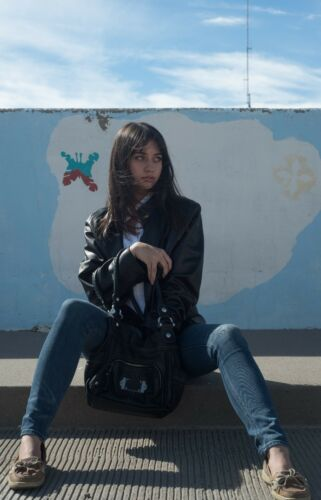 nera Designer di pelle da Giacca Xl Siena con donna design in RxnfwqSFT