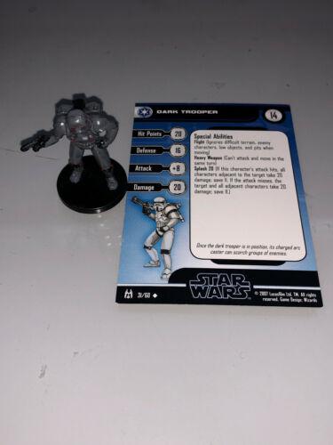 Star Wars Miniatures Force Unleashed DARK TROOPER #31