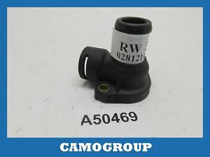 Flange Refrigerant Thermostat Housing Vema For Volkswagen Passat AUDI A4