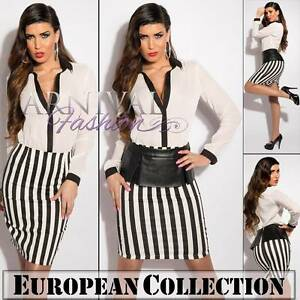 SEXY-PENCIL-DRESS-SKIRT-8-10-12-14-SHORT-HIGH-WAIST-sz-S-M-L-XL-WOMEN-ADULTS-AU