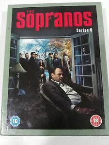 The Sopranos Complete Saison 6 - 4 DVD COLLECTOR´S Edition HBO English - Am