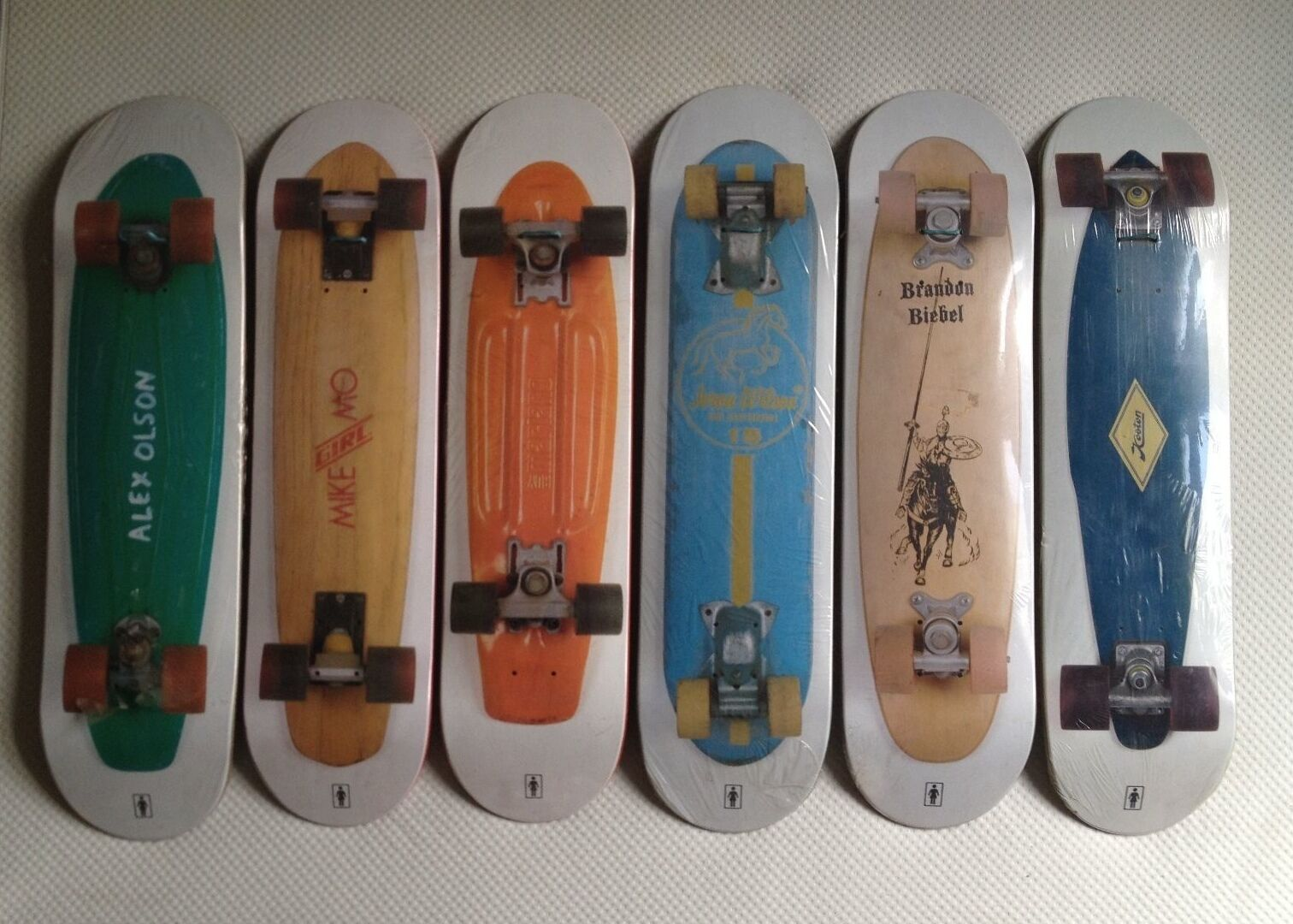 Girl Plank Decks Extreme Extreme Extreme Rare Complete Skateboard Series Collection f05dab