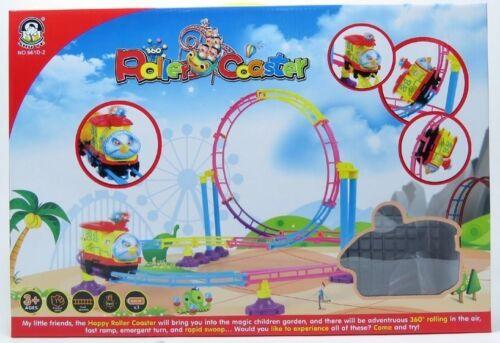 RC61 Park Roller Coaster Toy Building Set 75 Pcs