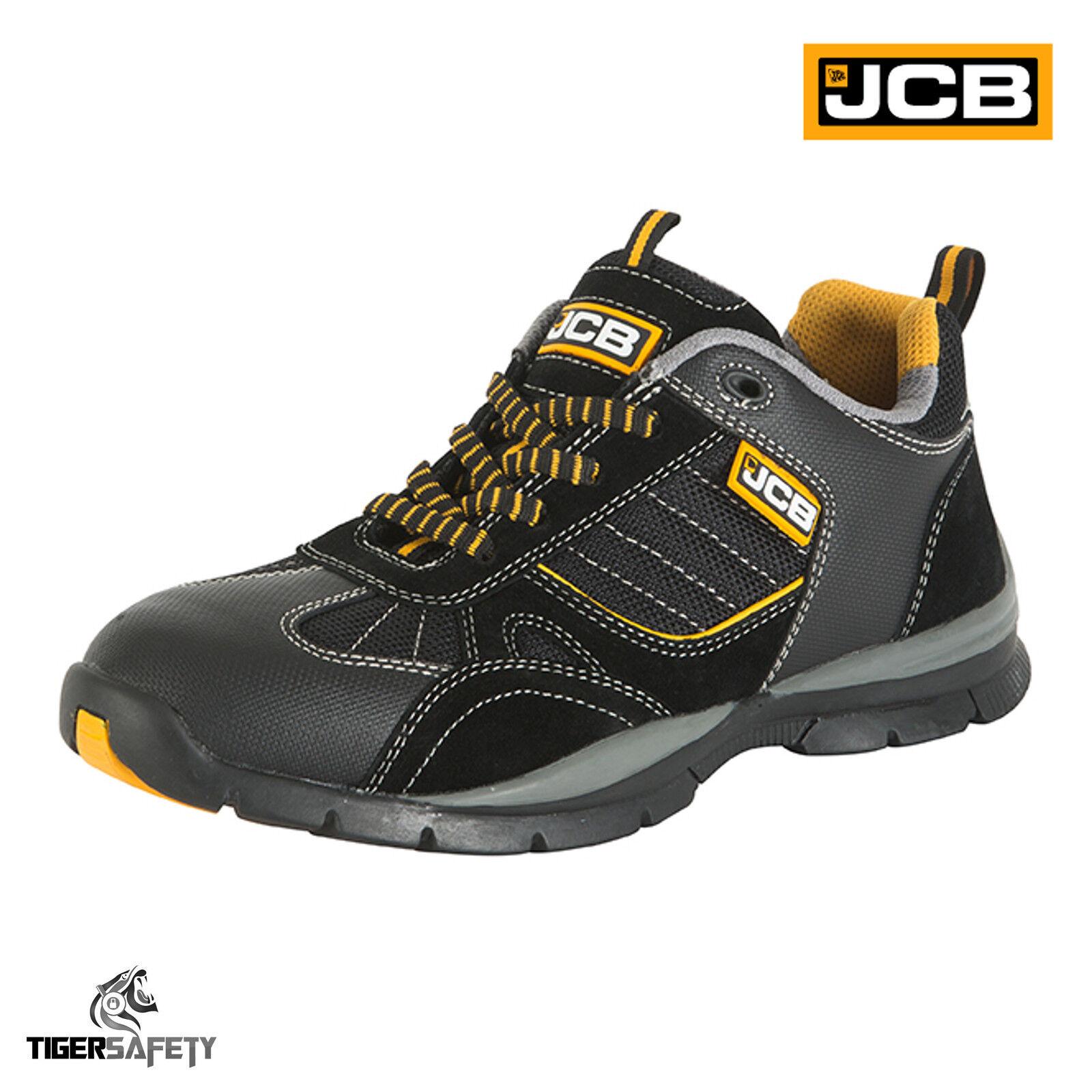 5ba60cd546ccd2 JCB Granite SB Black Steel Toe Cap Sport Style Baskets Baskets Baskets De  Sécurité Travail Chaussures PPE | Pratique Et économique 99de95