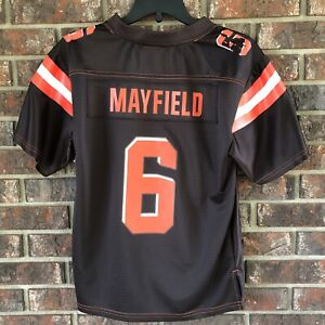 huge selection of e7001 fa601 Details about Baker Mayfield Women's NFL Pro Line Cleveland Browns  Officially Licensed Jersey