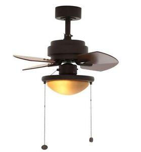 24-Inch-Bronze-Ceiling-Fan-4-Blades-Reversible-Indoor-Light-Chain ...