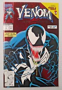 Venom-Lethal-Protector-1-1993-NM-Shape-Foil-Cover-Marvel-Comics