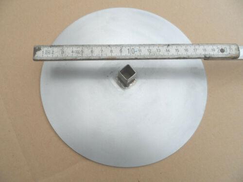 Döner /& Gyrosgrill Spießteller 200 mm,// Mite 12x12mm Vierkante.,