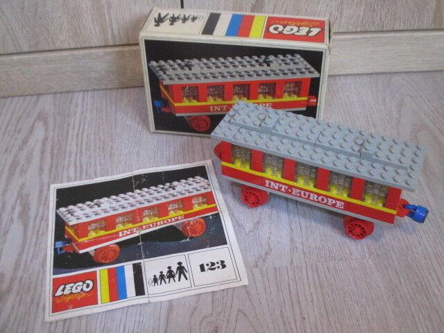 LEGO ® 131 vagone LEGO, int. Europe vagone, di 1969, OVP, Ba