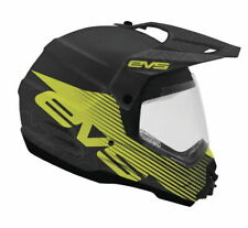 EVS T5 VENTURE White Black Motorcycle Dual Sport Helmet Mens HT5DS-WHBK