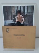 YOU ARE INVITED…BRUCE LEE 'ENTER THE DRAGON' PHOTO COLLECTION – VERY LIMITED