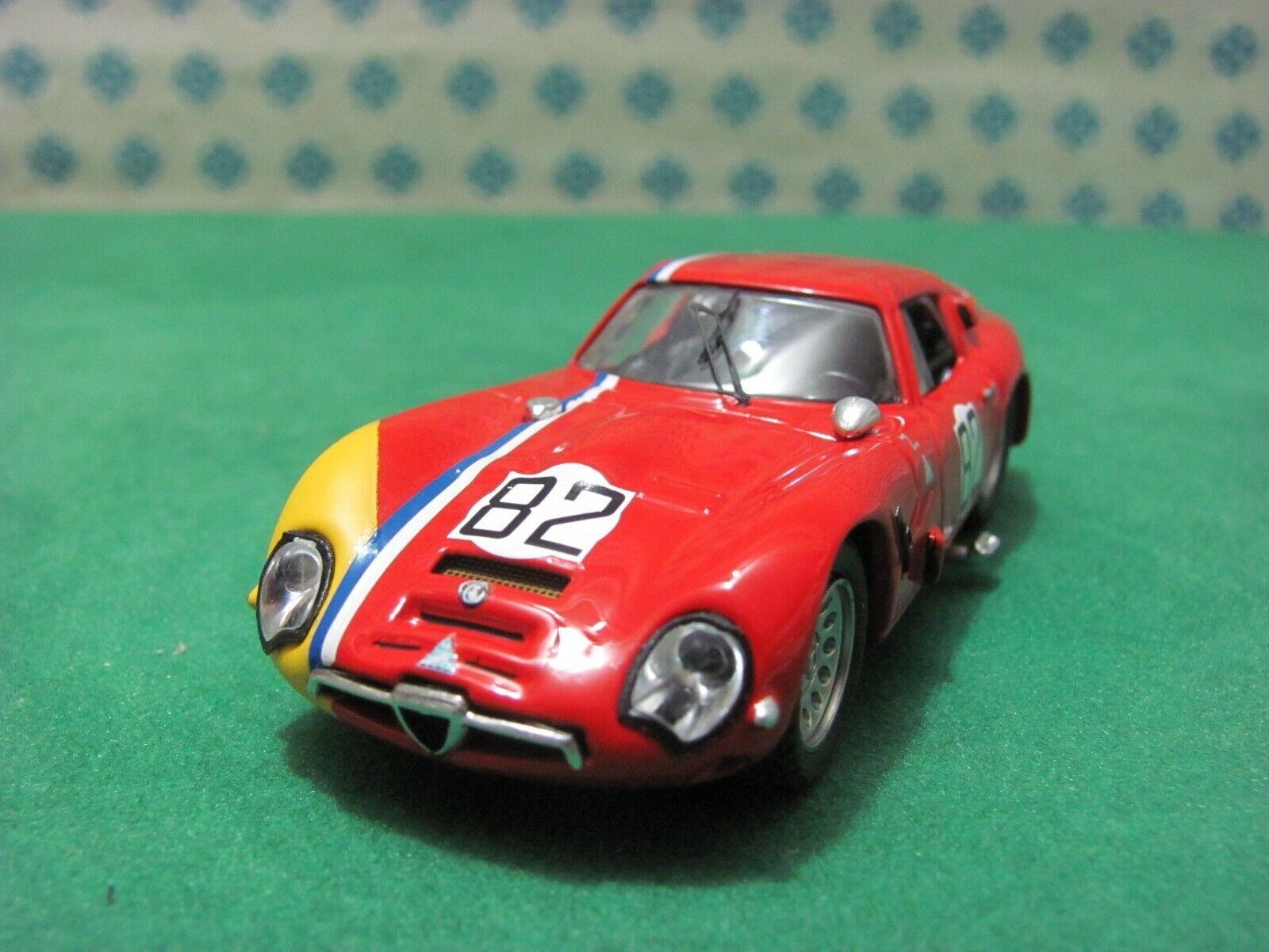 Alfa Romeo Giulia TZ 2 coupe 1600 Nurburgbague 1967   - 1 43 Best 9322  réduction en ligne