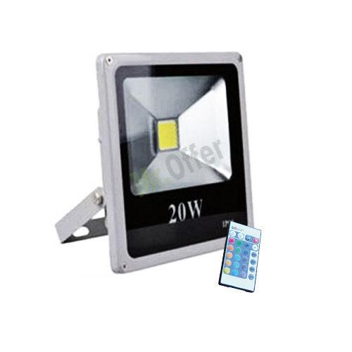 Faro led RGB 10w 20w 30w 50w watt fari faretti luce multicolore faretto esterno