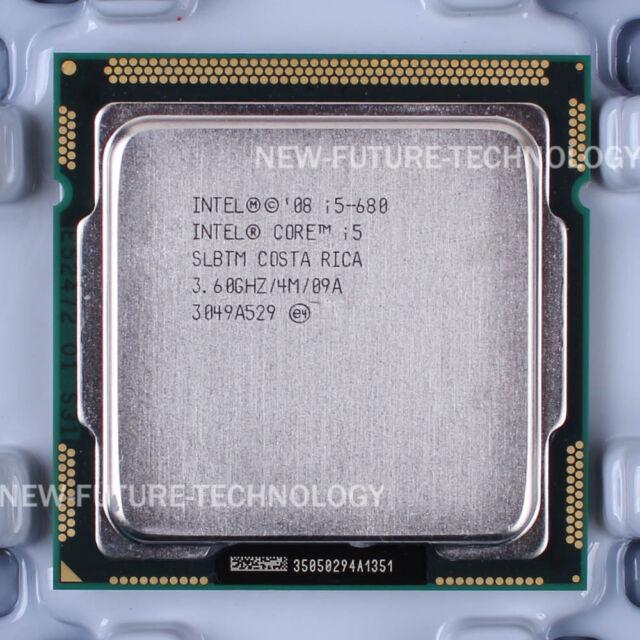 Intel Core i5-680 (CM80616004806AA) SLBTM CPU 2.5 GT/s/3.6 GHz LGA 1156 100% OK