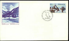 Canada 1984 $1 Glacier Definitive FDC First Day Cover #C38617