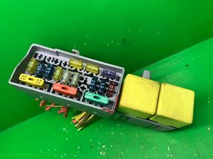 Details about RENAULT MEGANE CLIO SCENIC LAGUNA YELLOW FUSE BOX, RELAY on