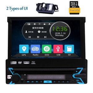 7-034-Capacitiva-Pantalla-tactil-1Din-Autoradio-DVD-Bluetooth-GPS-Navi-Estereo-Cam