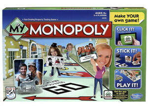 MY-MONOPOLY-game-personalize-your-own-game-NEW-amp-SEALED