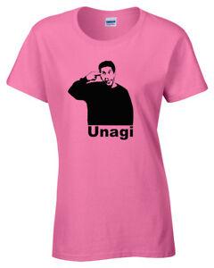 Friends-UNAGI-T-SHIRT-FUNNY-Ross-top-tee-joke-present-gift-womens-ladies