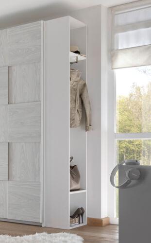 Flurgarderobe Garderobe Aufbewahrung Regal Schrank 50cm weiß Lack matt 555099