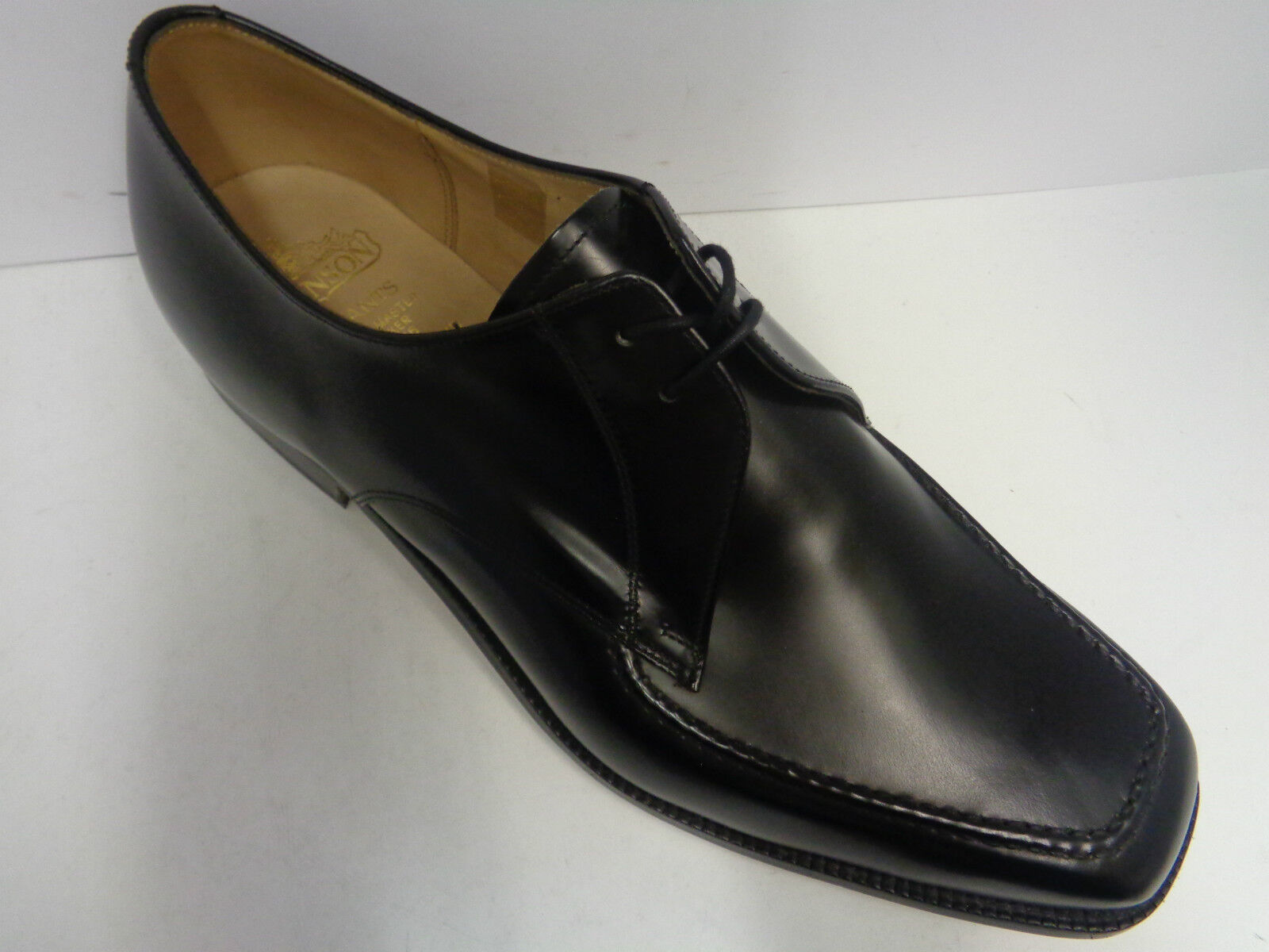Mens Grensons Leather Lace Up Formal Shoes Black/Brown G Fitting Preston