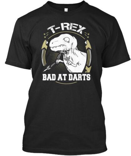 Fléchettes T-Rex Mauvais en-NA Standard Unisexe T-Shirt