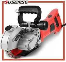 133mm Wall Slotting Machine 4800w Electric Wall Chaser Groove Concrete Saw
