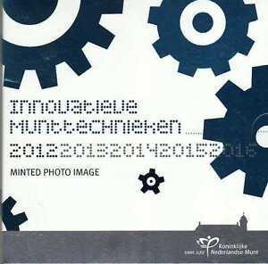 PAYS-BAS Coffret de 8 pièces FDC BU 2012 - Minted Photo Image