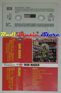 MC-IRON-MAIDEN-Killers-1981-italy-EMI-54-1074504-cd-lp-dvd-vhs
