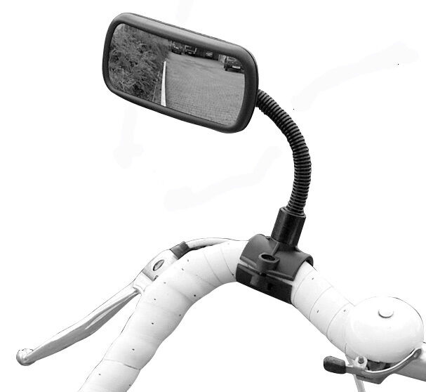 HR 1041110 Schwanenhals Fahrradspiegel Fahrrad Spiegel Rückspiegel Convex E Bike