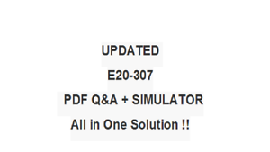 VMAX3 SOLUTION SPECIALIST FOR IMPLEMNTATION ENGINEERS E20-307  QA PDF/&Simulator