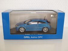 Opel Astra GTC OPC Modellauto 1:43 ardenblau