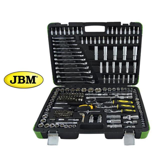 Verde JBM 50791 Piezas con Vasos de 12 Cantos en Estuche