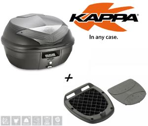 K355NT-Kappa-Bauletto-35LT-posteriore-nero-piastra-universale-moto-scooter