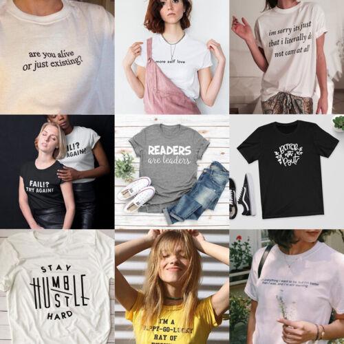 Stay Humble Hustle Hard T-shirt Positive Slogan Tee Funny Tops Humor Shirt Gifts