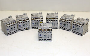 Allen-Bradley-M400-700DC-M400-Series-A-Lot-of-6-USED