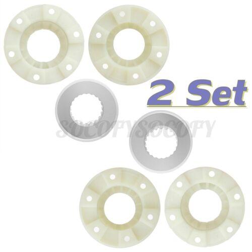 2 Set  W10820039 Washer Hub Kit For Whirlpool Maytag BravoPS1485595 AH1485595