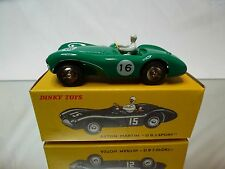 DINKY TOYS ATLAS 506 ASTON MARTIN DB3 SPORT No 16 - GREEN 1:43 - MINT IN BOX