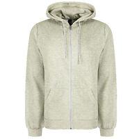 Soul Star Slim Full Zip Hooded Top Fleece Sweatshirt Hoodie All Colours & Sizes
